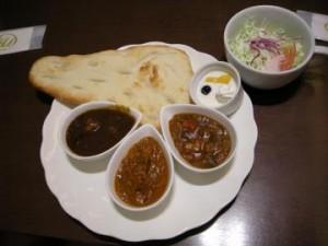 ベル風カレー定食