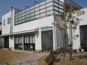 武豊町六貫山 ラ・ルーチェ 入口