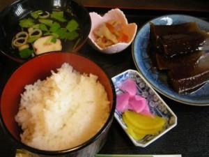 『桜茶屋』 味噌でんがく定食