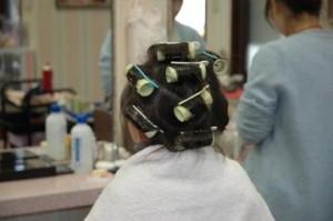 半田市 創寫館で髪をセット