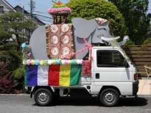 半田市仏教会の「花まつり」