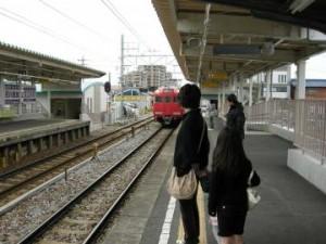 名鉄で岡崎へ