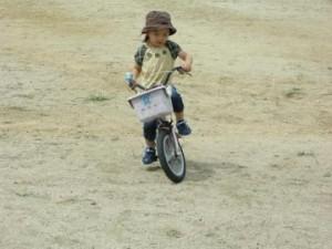 自転車練習風景2