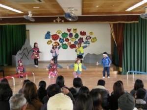 清城保育園の生活発表会