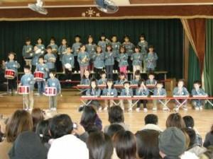 清城保育園の生活発表会2