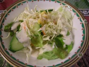 Aランチ サラダ
