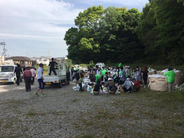 西成岩区の資源回収2