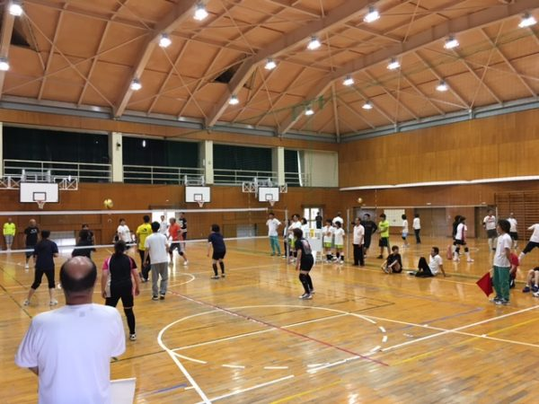 第41回西成岩区町内対抗ソフトバレーボール大会 試合