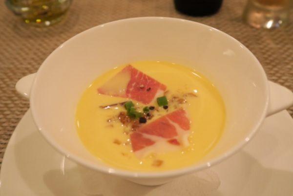ディナーBコース スープ