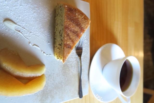 sugi cafe ケーキセット(800円)