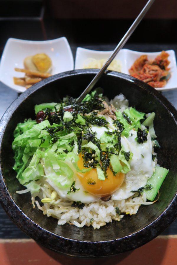 武豊 韓国料理ゆんまる 石焼ビビンバ