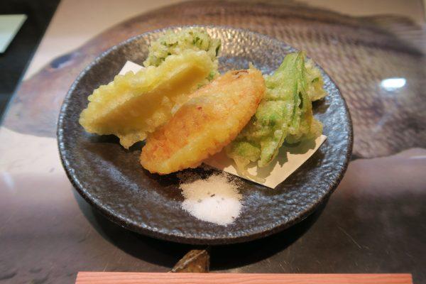 揚げ:旬の野菜天ぷら