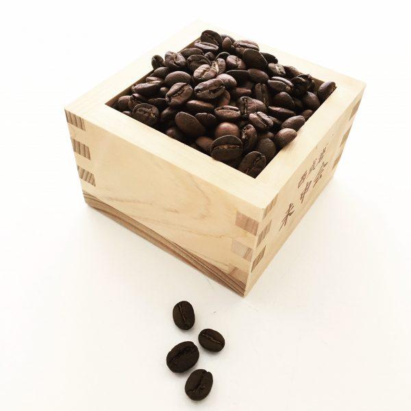 節分には珈琲豆を挽いて淹れました