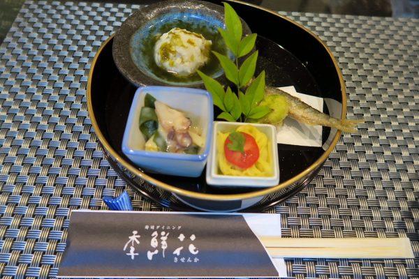寿司ダイニング季鮮花 花ランチの前菜