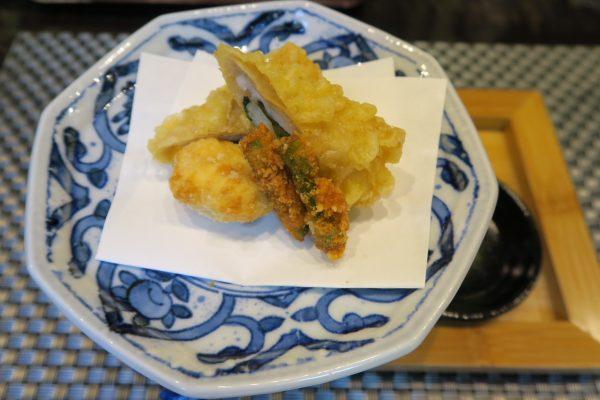 寿司ダイニング季鮮花 花ランチの揚げ物