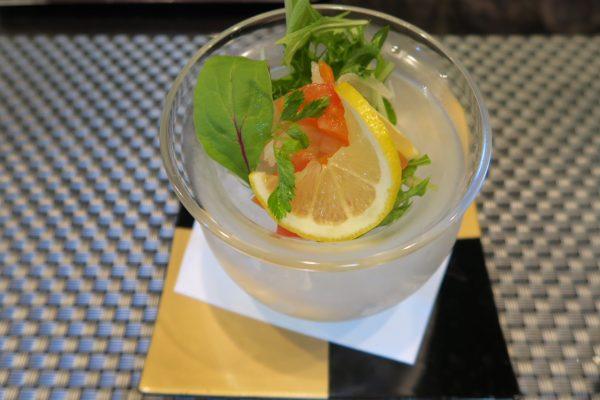 寿司ダイニング季鮮花 花ランチのサラダ