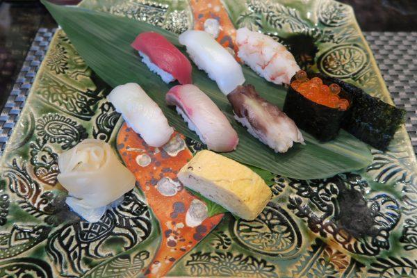 寿司ダイニング季鮮花 花ランチの握り寿司