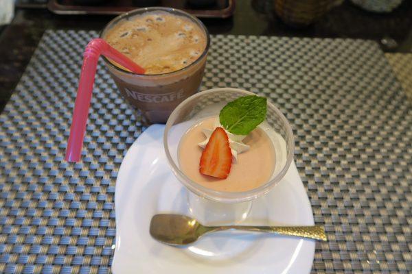 寿司ダイニング季鮮花 花ランチの水物(デザート)とドリンク