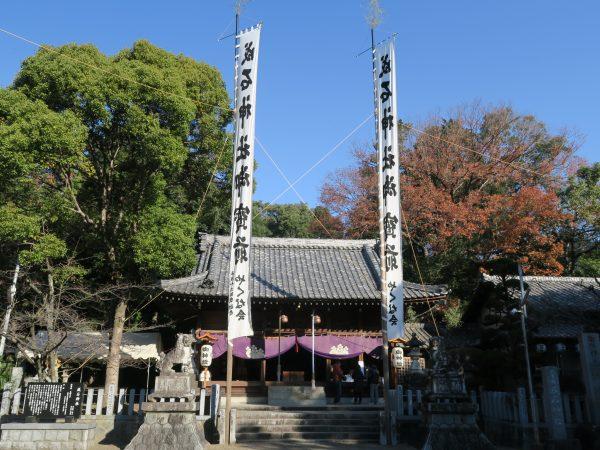 成石神社 初詣