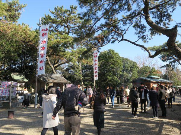 樽水本宮神社 初詣