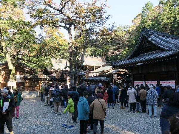 多賀神社 初詣