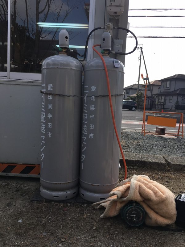 ニイミ産業 ガス設備点検