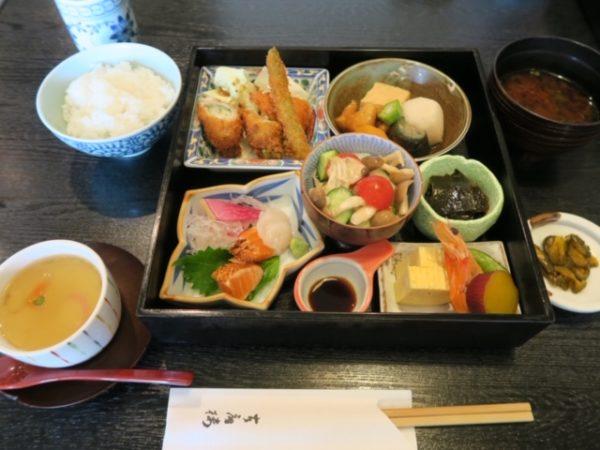 日本料理店「古扇楼」 松花堂弁当1
