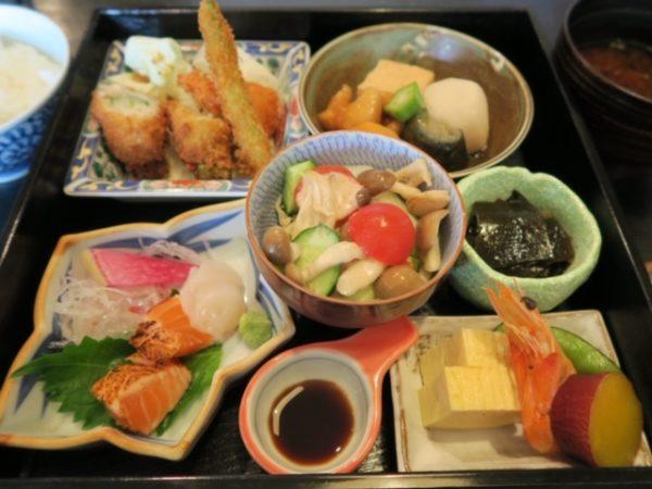 日本料理店「古扇楼」 松花堂弁当2