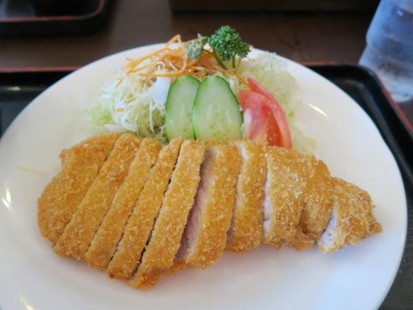 乙川 カフェテラス・タカチホ 山形豚のポークカツ定食2