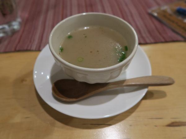 半田 ラリーグラス ラリーグラスディナー スープ