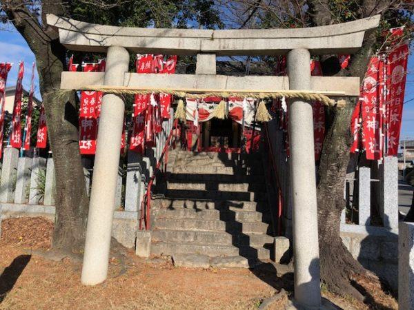 元旦恒例の初詣 児宮春日神社