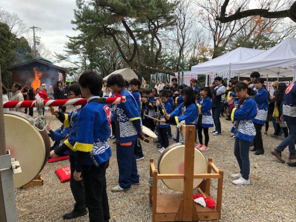 元旦恒例の初詣 常滑 樽水本宮神社2