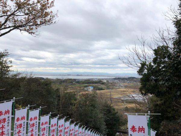 元旦恒例の初詣 常滑 樽水本宮神社3