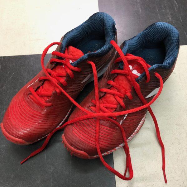 テニスシューズ、ディアドラ 標準の靴紐