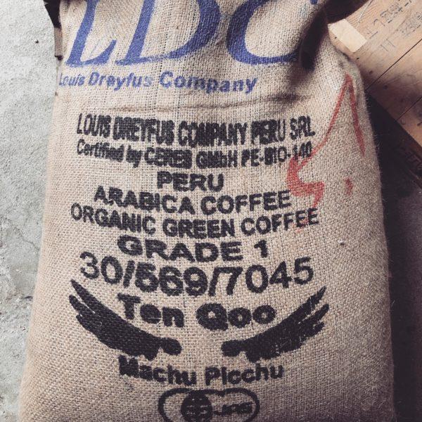 自家焙煎珈琲 ペルー・マチュピチュ天空 生豆