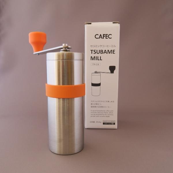 三洋 CAFEC TSUBAME MILL セラミックコーヒーミル TM-18 入荷_1