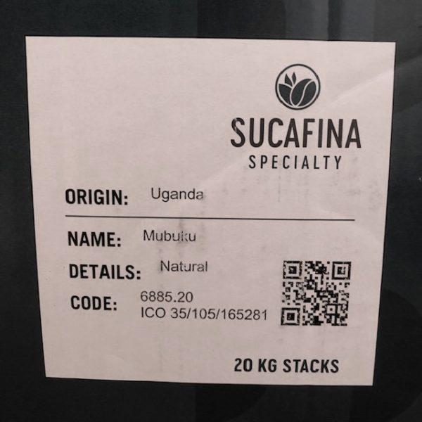 ウガンダ・カセセCWSナチュラル シール