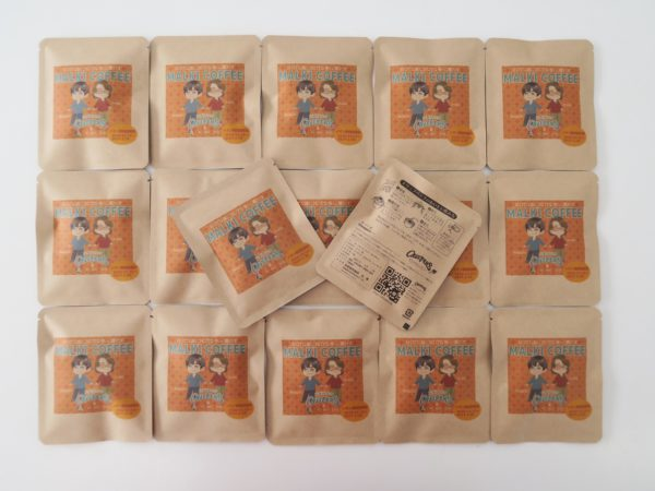 CHEEPERS & MALKI コラボ・ドリップパック・コーヒー(表)