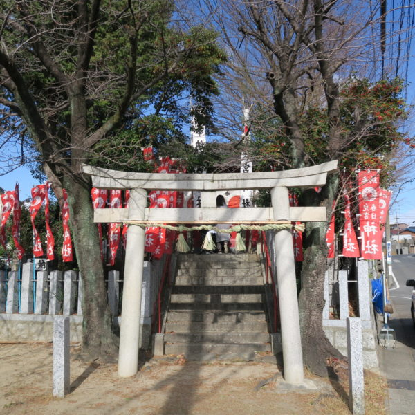 恒例の初詣 児宮春日神社2021