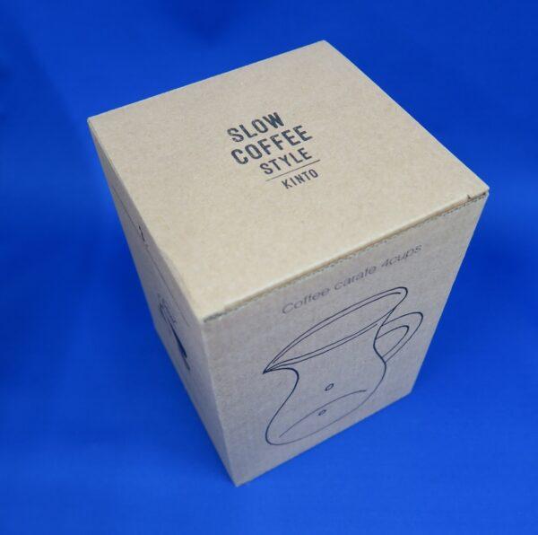 KINTO コーヒーサーバー コーヒーカラフェ(4杯用、600ml)_外箱