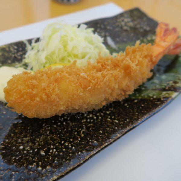 武豊町 旬の魚 喜福 浜ランチ 海老フライ