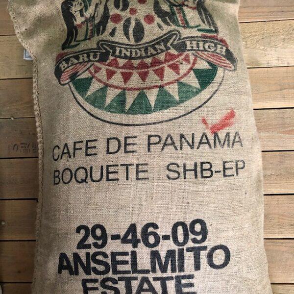 パナマコーヒー アンセルミート農園 麻袋