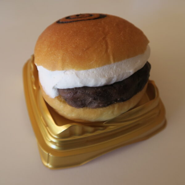 豊浜 永和堂製菓舗 ケーキ屋さんのマリトッツォ 粒あん&生クリーム